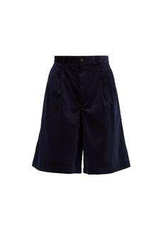 Comme des Garçons Shirt Wide-leg corduroy shorts