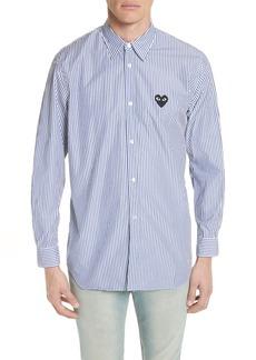 Comme des Garçons Stripe Woven Shirt