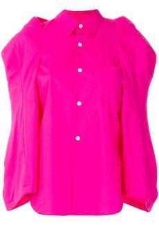 Comme Des Garçons structured sleeve shirt - Pink & Purple