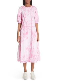 Comme des Garçons Tie Dye Midi Dress