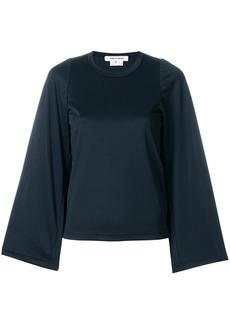 Comme Des Garçons wide sleeve blouse - Black