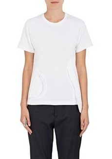 Comme des Garçons Women's Flap-Detail Cotton Jersey T-Shirt