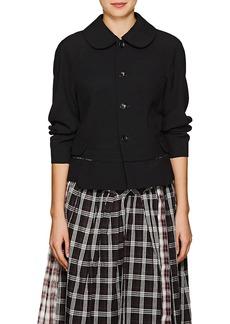 Comme des Garçons Women's Peter Pan-Collar Wool Blazer