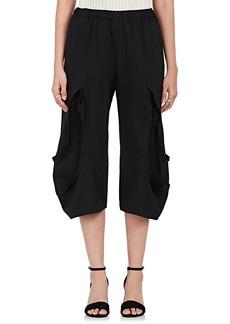 Comme des Garçons Women's Reverse-Seam Wool Crop Pants
