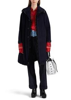 Comme des Garçons Women's Ruffle Angora-Wool Coat