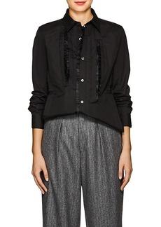 Comme des Garçons Women's Ruffled Cotton Tunic