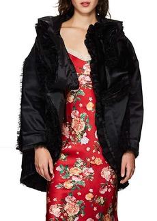 Comme des Garçons Women's Satin & Tulle Evening Coat