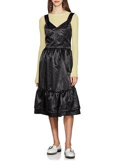 Comme des Garçons Comme des Garcons GIRL Women's Satin Tiered Dress