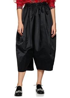 Comme des Garçons Women's Satin Voluminous Drop-Rise Pants