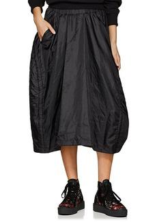 Comme des Garçons Women's Tech-Taffeta Drawstring Skirt
