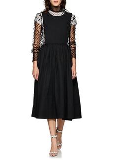 Comme des Garçons Women's Twill Pinafore Dress