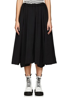 Comme des Garçons Women's Wool Drawstring Skirt