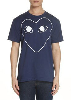 Comme des Garçons PLAY X-Ray Logo T-Shirt