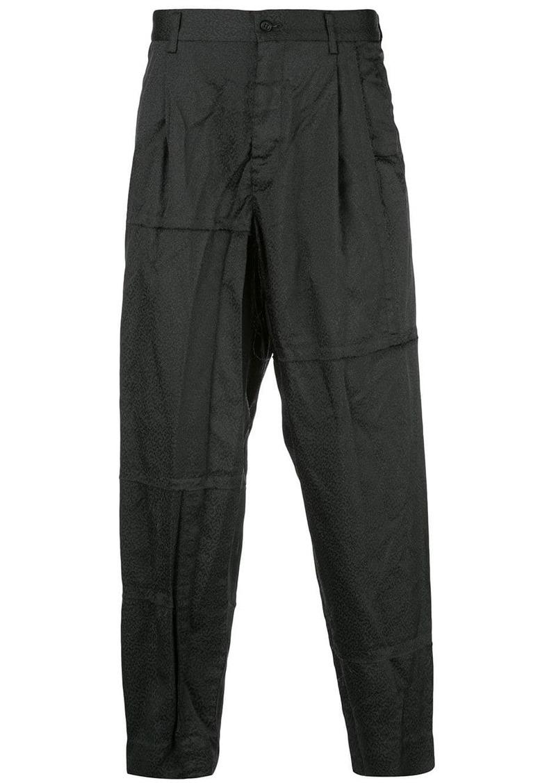 Comme des Garçons constructed trousers