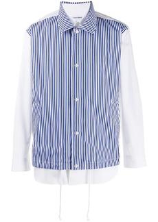 Comme des Garçons contrast layered shirt