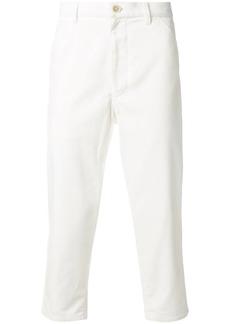 Comme des Garçons corduroy cropped trousers
