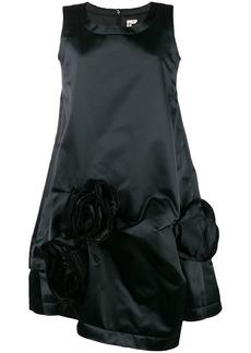 Comme des Garçons corsage detail flared dress