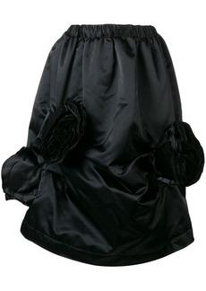 Comme des Garçons corsage detail skirt