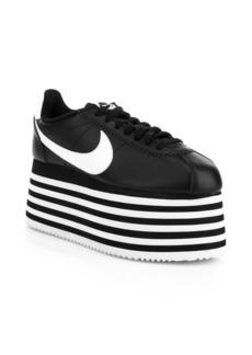 Comme des Garçons Cortez Platform Sneakers