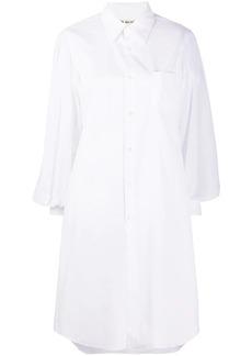 Comme des Garçons cotton shirt dress