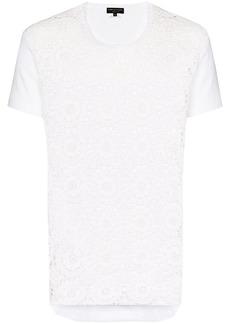 Comme des Garçons crochet short-sleeve T-shirt