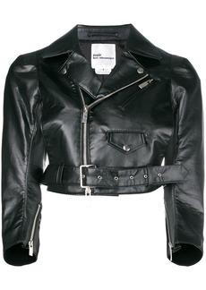 Comme des Garçons cropped biker jacket