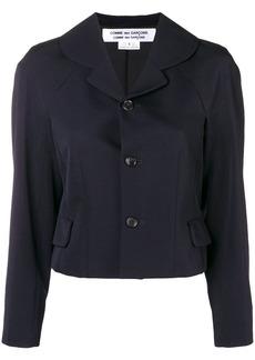 Comme des Garçons cropped fitted jacket