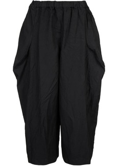 Comme des Garçons cropped flared trousers