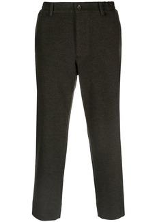 Comme des Garçons cropped slim-fit trousers