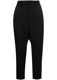 Comme des Garçons cropped tailored trousers