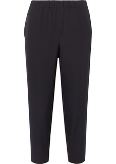 Comme des Garçons Cropped Wool-gabardine Tapered Pants
