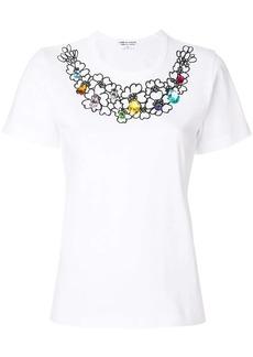 Comme des Garçons crystal embellished T-shirt