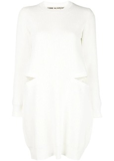 Comme des Garçons cut-out sweater dress