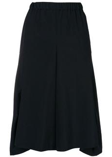 Comme des Garçons deconstructed midi skirt
