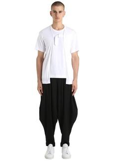 Comme des Garçons Double Layer Cotton Jersey T-shirt
