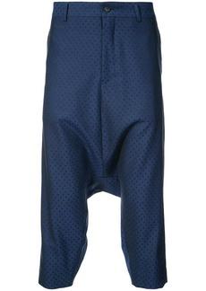 Comme des Garçons drop-crotch tailored trousers