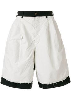 Comme des Garçons dual tone shorts