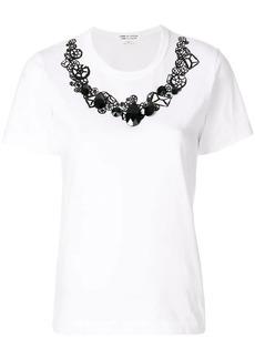 Comme des Garçons embellished print T-shirt