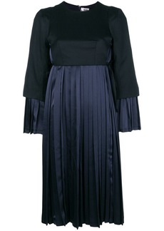 Comme des Garçons empire line pleated dress