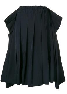 Comme des Garçons exaggerated waist pleat skirt