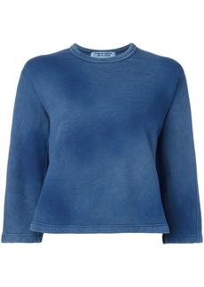 Comme des Garçons faded effect sweatshirt