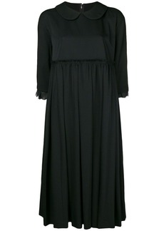 Comme des Garçons flared pleated dress