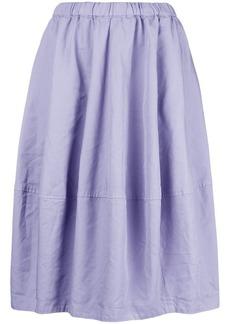 Comme des Garçons flared pleated full skirt