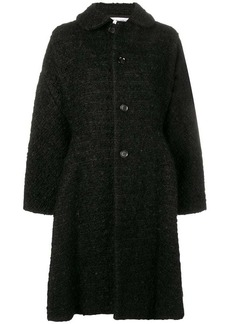 Comme des Garçons flared single-breasted coat