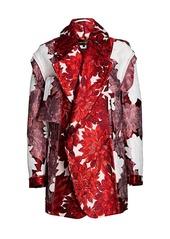 Comme des Garçons Floral Jacquard Oversized Jacket