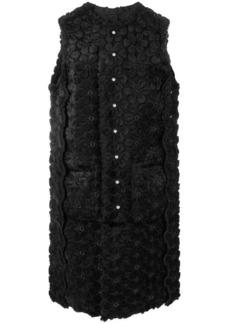 Comme des Garçons floral pattern sleeveless dress