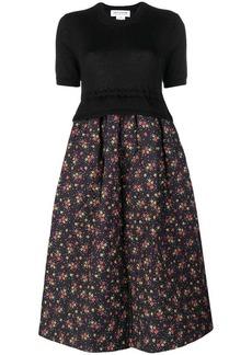 Comme des Garçons floral print dress