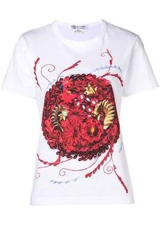 Comme des Garçons floral print short-sleeve T-shirt