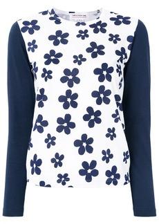 Comme des Garçons floral print T-shirt