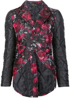 Comme des Garçons floral quilted jacket